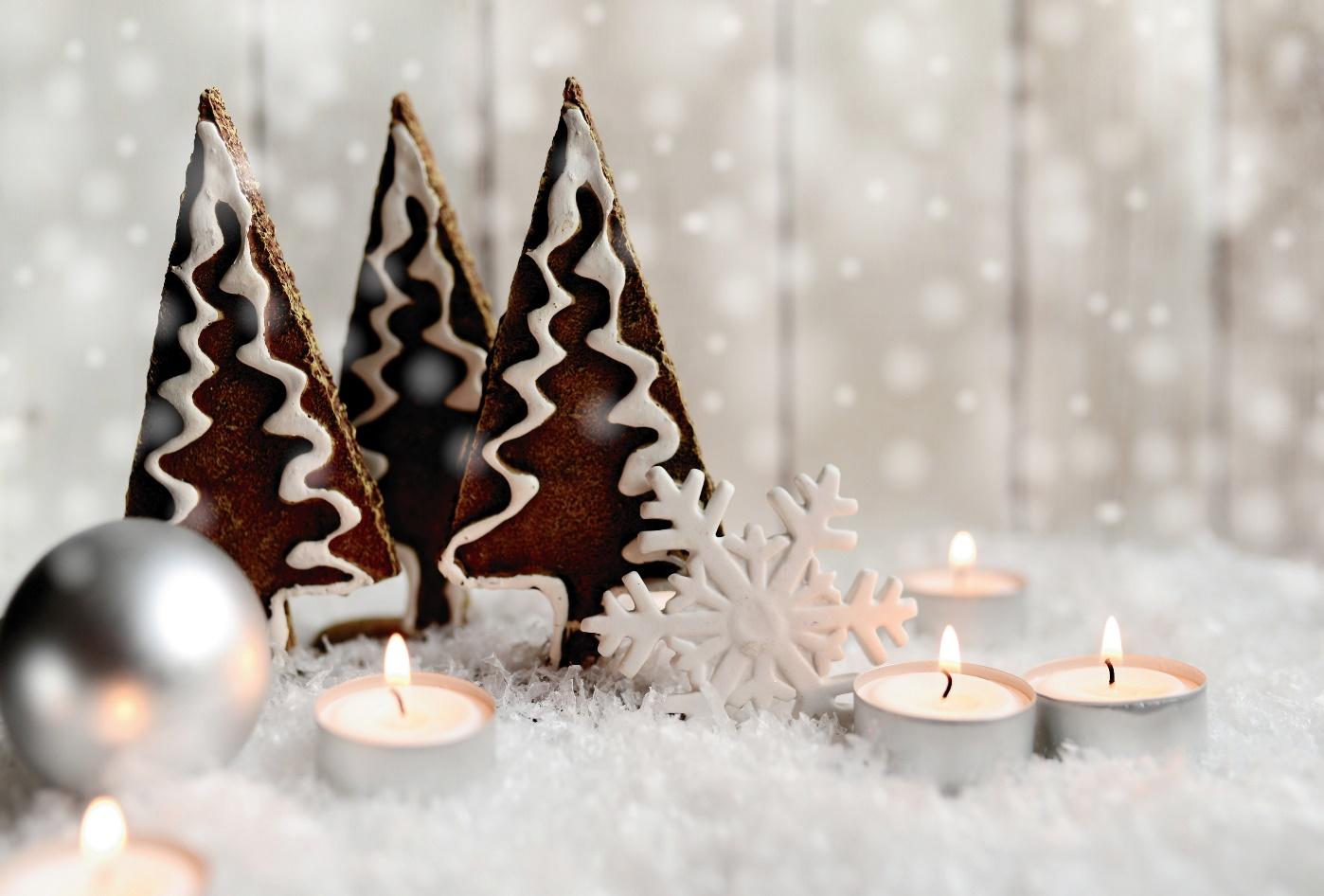 Deko an Weihnachten
